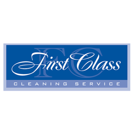 First Class Cleaning Service Logo
