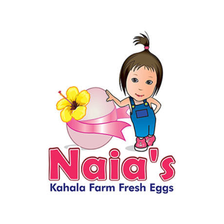 Naia's Kahala Farm Fresh Eggs Logo