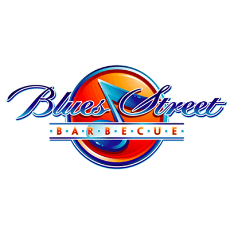 Blues Street Barbecue Restaurant Logo