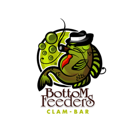 Bottom Feeders Clam Bar Logo