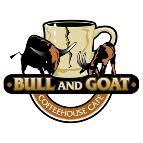 Bull And Goat Coffeehouse Cafe Logo