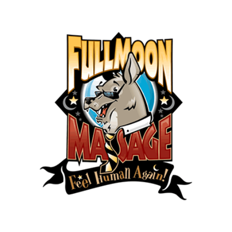 Full Moon Massage Logo