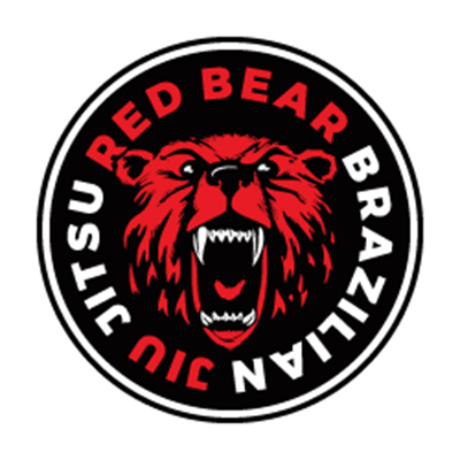 Red Bear Brazilian Jiu Jitsu Logo