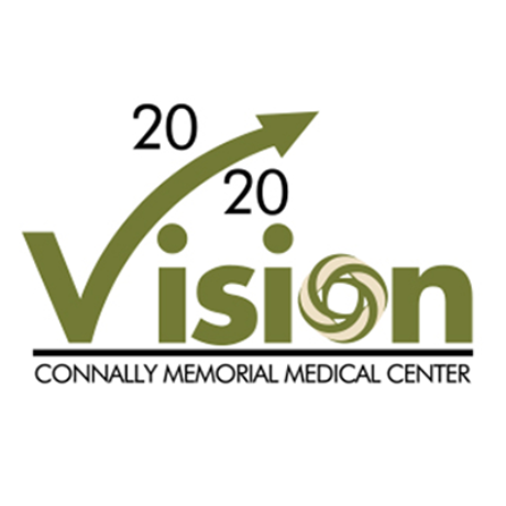 Connally Memorial Medical Center Vision 20/20 Logo