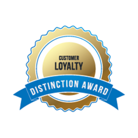 Customer Loyalty Distinction Award Logo 2