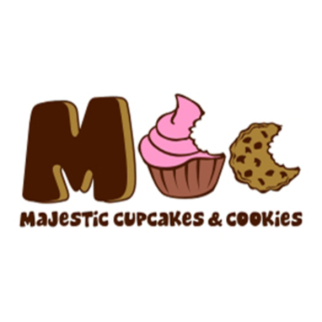 Majestic Cupcakes And Cookies Logo