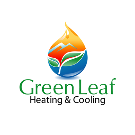 Green Leaf Heating & Cooling Logo