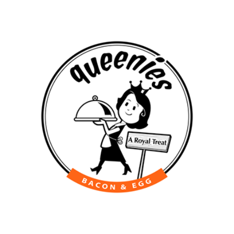 Queenies Bacon & Egg Logo