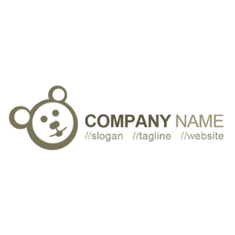 Free Bear Logo Template