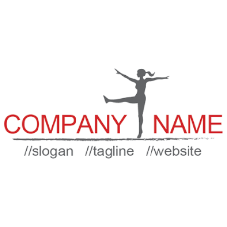 Free Dancer Logo Template