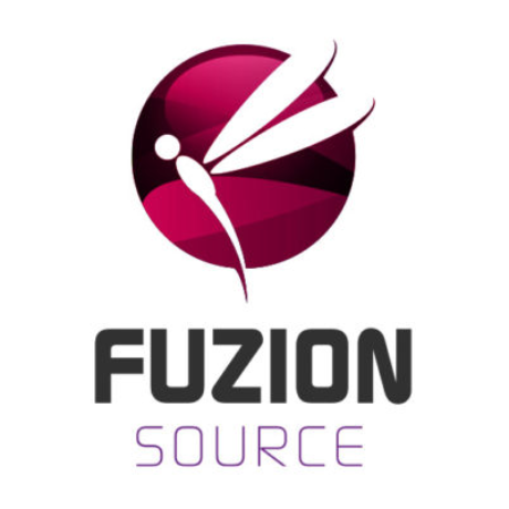 Free Fuzion Source Dragonfly Logo Template