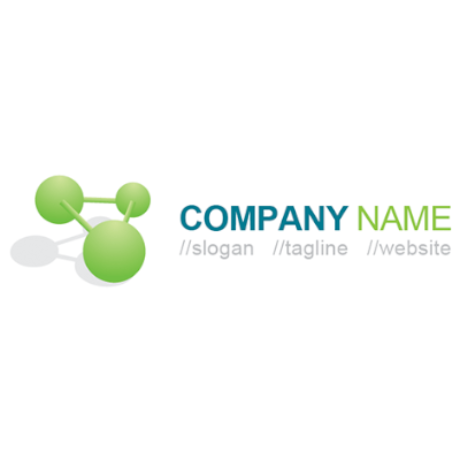 Free  Interconnecting Sphere Logo Template