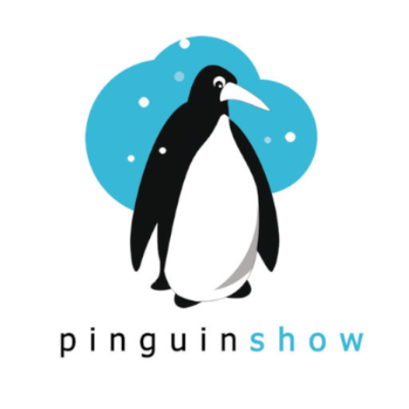 Free Pinguin Show Logo Template
