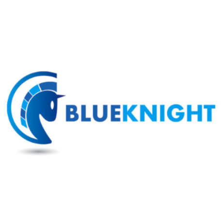 Free Blue Knight Logo Template