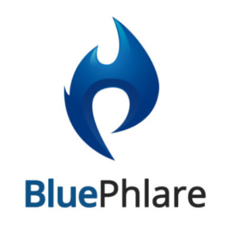 Free Blue Phlare Logo Template