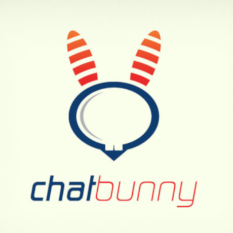 Free Chat Bunny Logo Template