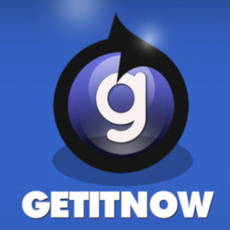 Free Get It Now Logo Template