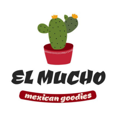 Free Mexican Goodies Logo Template