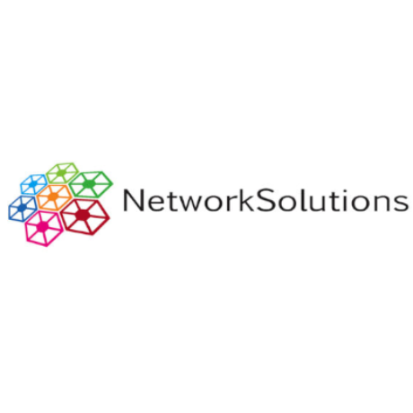 Free Network Solutions Logo Template