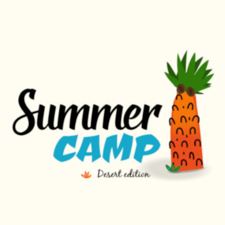 Free Summer Camp Logo Template