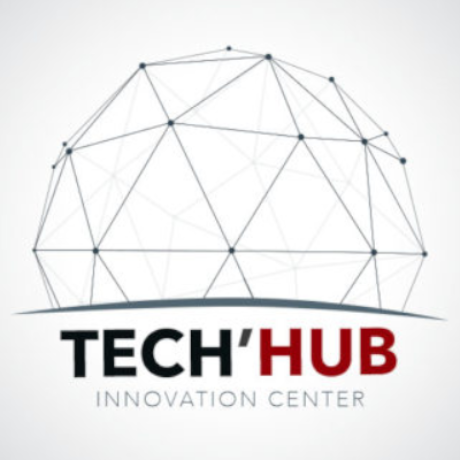 Free Tech Hub Innovation Center Logo Template