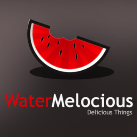 Free Water Melocious Logo Template