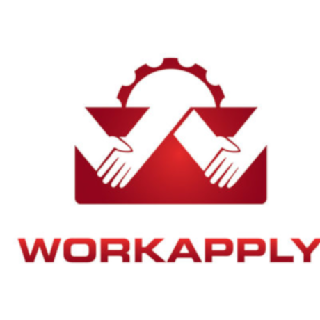 Free Work Apply Logo Template