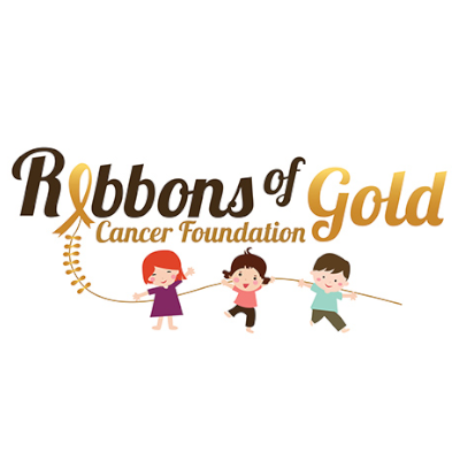 Ribbons of Gold Cancer Foundation Logo