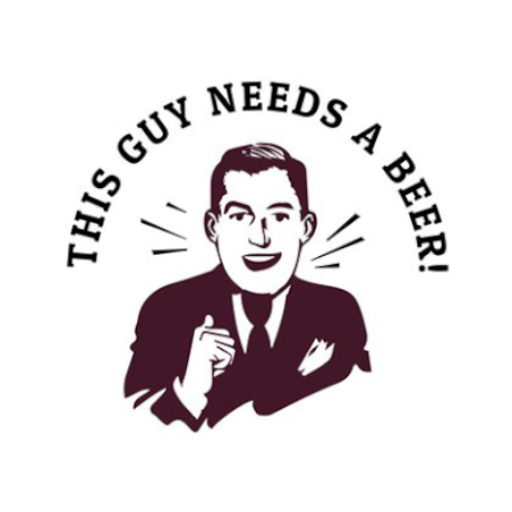 This Guy Needs A Beer! Logo