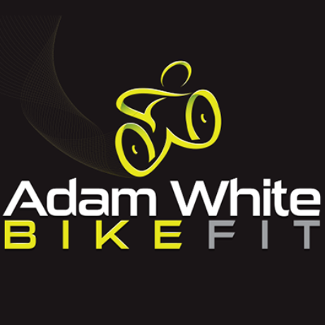 Adam White Bike Fit Logo