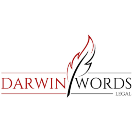 Darwin Words Legal Logo
