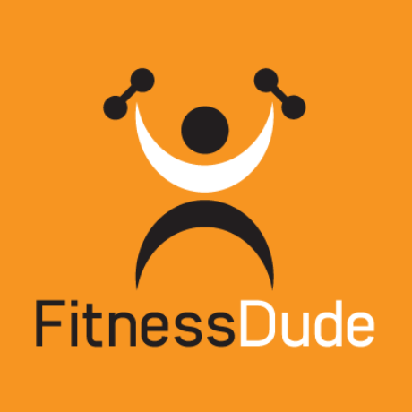 Fitness Dude Logo Template