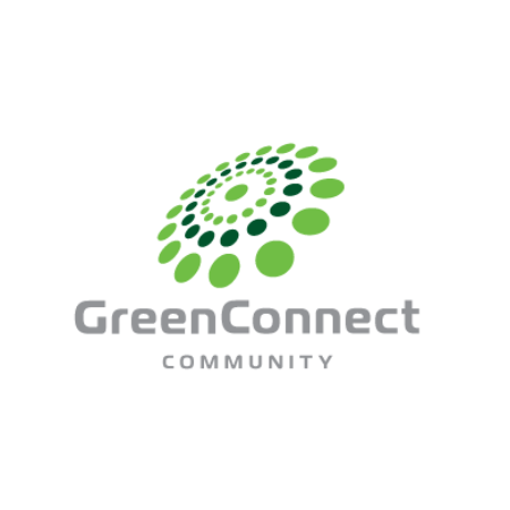 Green Connect Community Logo Template