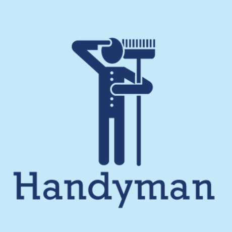Handy Man Logo Template