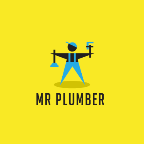 Mr Plumber Logo Template