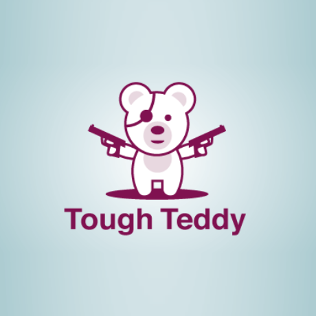 Tough Teddy Logo Template