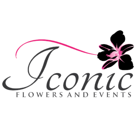 Iconic Flowers and Events Logo
