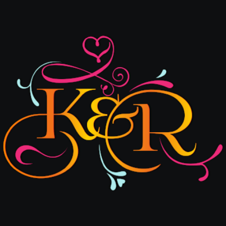 K & R Wedding Stationery Logo