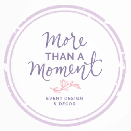 More Than A Moment Event Design & Decor Logo