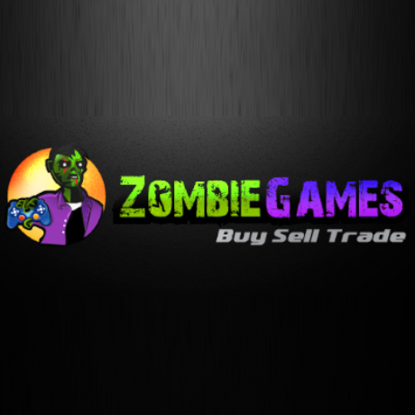 Zombie Games Buy Sell Trade Logo
