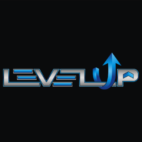 Level Up Video Game Store Logo