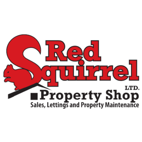 Red Squirrel Property Shop Logo
