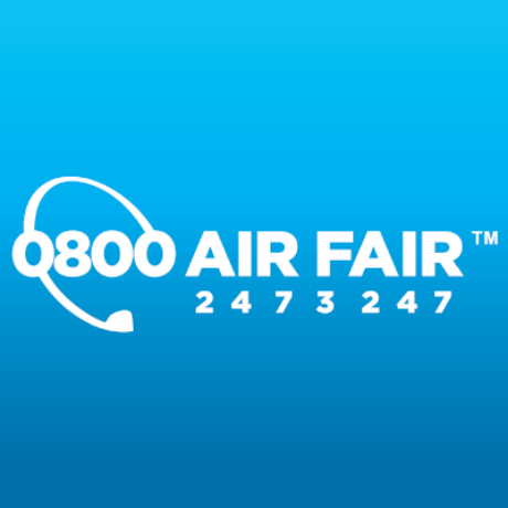 0800 Air Fair Logo