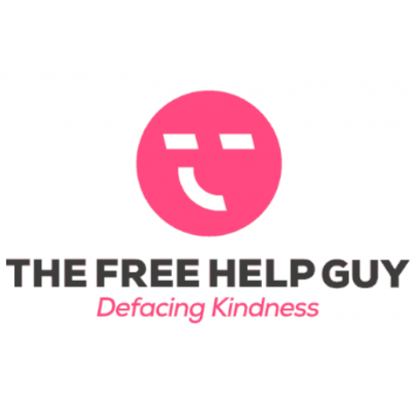 The Free Help Guy Logo