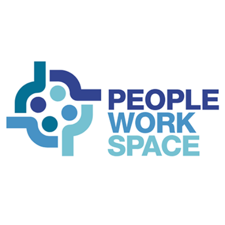 People Work Space Logo Logo