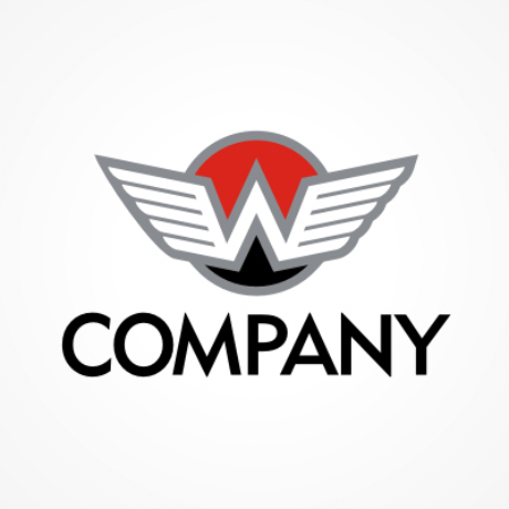 Winged W Logo Template