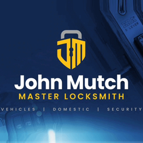 John Mutch Master Locksmith Logo