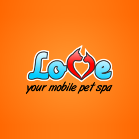 Love Your Mobile Pet Spa Logo