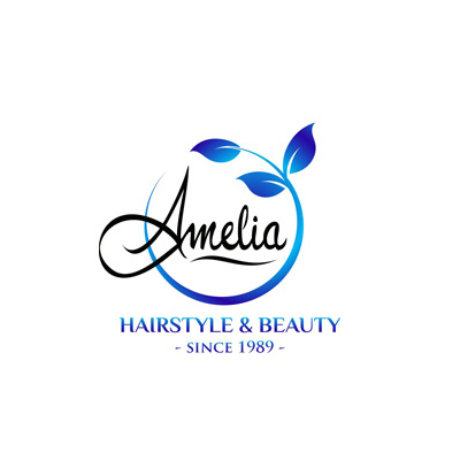 Amelia Hairstyle & Beauty Logo