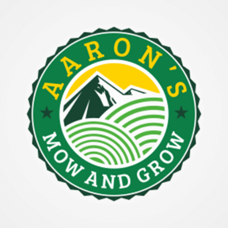 Aaron's Mow and Grow Logo